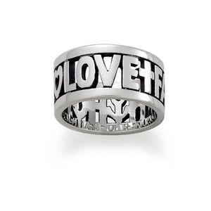 "James Avery ""Faith, Hope, Love"" Ring (Size 8)"